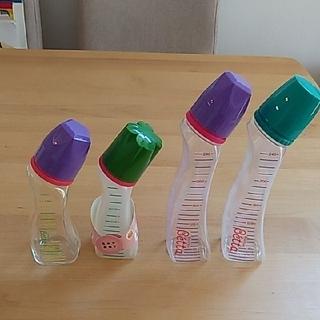 ベッタ(VETTA)のドクターベッタ、哺乳瓶4本(哺乳ビン)
