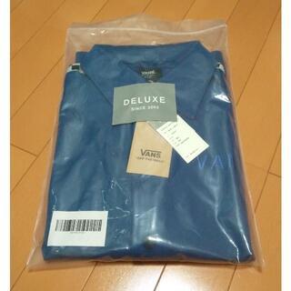 デラックス(DELUXE)の新品 DELUXE x VANS ジャケット 青 size.S(ジャージ)