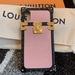 ルイヴィトン(LOUIS VUITTON)のむろん様専用です ルイヴィトン アイトランクライト IPHONE X & XS(iPhoneケース)