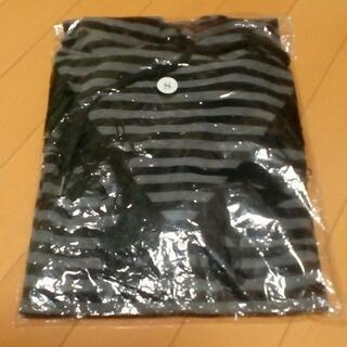 ヴァンキッシュ(VANQUISH)の新品 LEGENDA フリンジ フード付き Tシャツ 黒 size.S(Tシャツ/カットソー(半袖/袖なし))