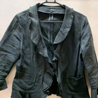 コムサイズム(COMME CA ISM)のコムサイズム ジャケット 黒(テーラードジャケット)