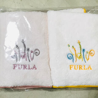 Furla - フルラ  タオルハンカチ 2枚セット