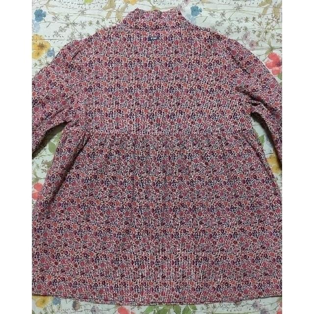 familiar(ファミリア)のファミリア familiar チュニック ブラウス ワンピース リバティ 130 キッズ/ベビー/マタニティのキッズ服女の子用(90cm~)(Tシャツ/カットソー)の商品写真