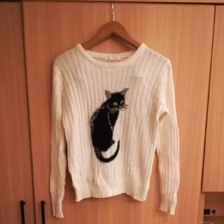 エージーバイアクアガール(AG by aquagirl)の猫セーター(ニット/セーター)