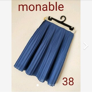 グリーンレーベルリラクシング(green label relaxing)のgreen label relaxing monable♡プリーツスカート(ひざ丈スカート)