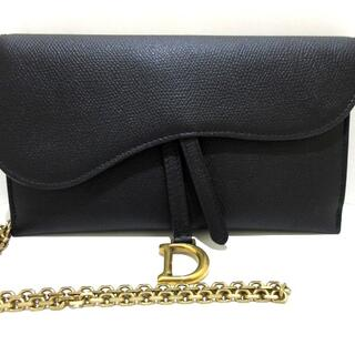 クリスチャンディオール(Christian Dior)のクリスチャンディオール 財布美品  黒(財布)
