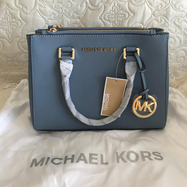 Michael Kors(マイケルコース)の★新品・未使用 マイケルコース バッグ カバン ブルー レディースのバッグ(ショルダーバッグ)の商品写真