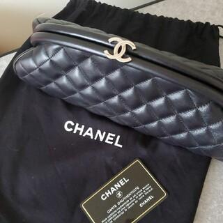 CHANEL - CHANEL新品ラムスキンマトラッセココマーククラッチバッグ