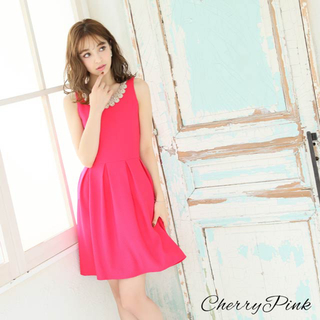 デイジーストア(dazzy store)のワンピース ドレス ピンク ミニドレス キャバドレス(ミニワンピース)