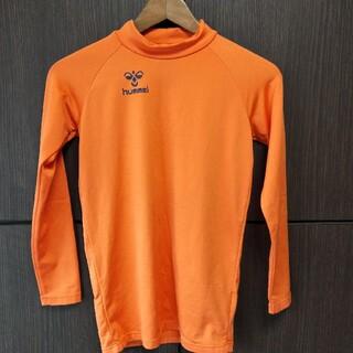 ヒュンメル(hummel)のサッカー アンダーシャツ オレンジ(ウェア)