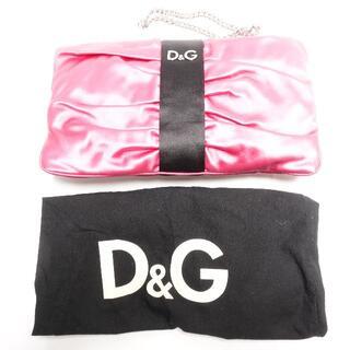 ドルチェアンドガッバーナ(DOLCE&GABBANA)の[DOLCE&GABBANA] ピンクのバッグ(ハンドバッグ)