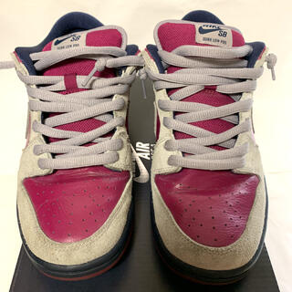 ナイキ(NIKE)のNike SB Dunk Low Atmosphere Grey Berry(スニーカー)