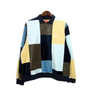Supreme - シュプリームSupreme■20AWパッチワークベロアポロシャツ