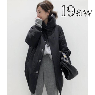 L'Appartement DEUXIEME CLASSE - 美品 19aw L'Appartement 中綿コクーンコート アパルトモン