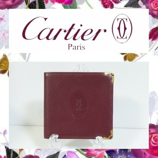 カルティエ(Cartier)のカルティエ お札入れ(折り財布)
