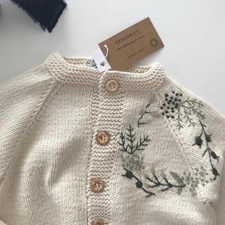Caramel baby&child  - penoora's ニットカーディガン EDEN 3y