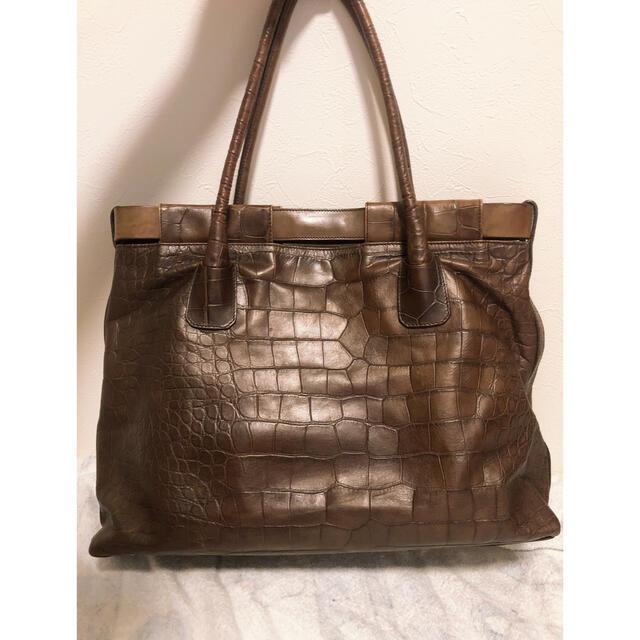 Furla(フルラ)のFURLA クロコ型押しバッグ レディースのバッグ(ハンドバッグ)の商品写真