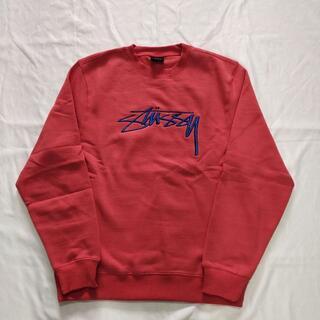 STUSSY - STUSSY ステューシー刺繍スウェット トレーナープルオー XL