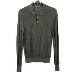 ドルチェアンドガッバーナ(DOLCE&GABBANA)のドルチェアンドガッバーナ 長袖ポロシャツ(ポロシャツ)