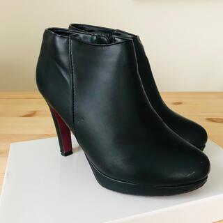 ランダ(RANDA)のRANDA ブーティ(Mサイズ 黒)(ブーツ)