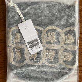 mina perhonen - ミナペルホネン 限定 ring flower 巾着バッグ