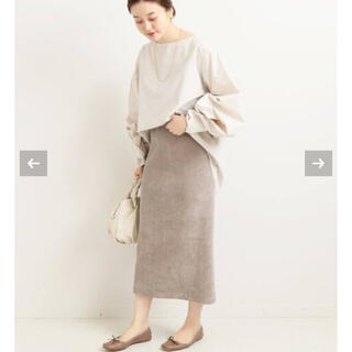 IENA - IENA コーデュロイジャージスカート 40 新品