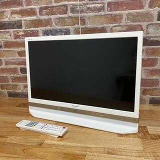 AQUOS - 美品 Blu-ray&HDD内蔵/W録 ネット☆SHARP 24V型 液晶テレビ