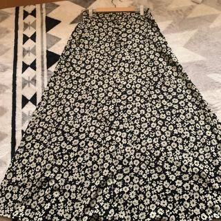 LOWRYS FARM - ローリーズファーム ロングスカート ハナクルミボタン Aラインスカート