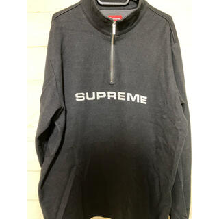 Supreme - supreme half zip fleece