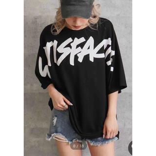 ☆ANAP☆      プリントオーバーサイズTシャツ  新品 タグ付き