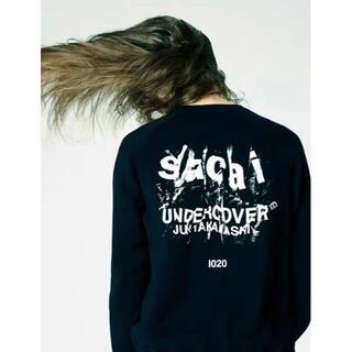 SACAI × UNDERCOVER ブラック スウエット