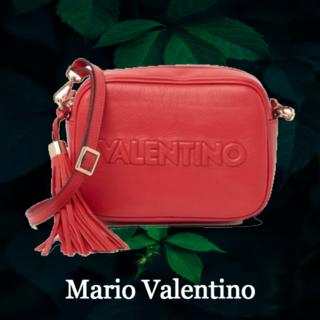 マリオバレンチノ(MARIO VALENTINO)の★SALE☆【Mario Valentino】ロゴ ミアレザークロスボディバッグ(ショルダーバッグ)