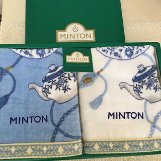MINTON - 【MINTON】ハンドタオル
