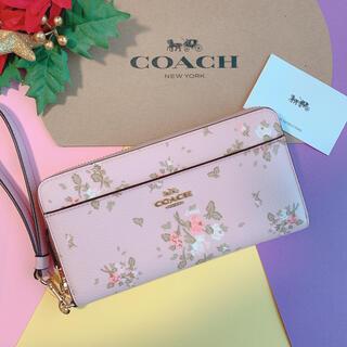 COACH - 新品♡coach コーチ ローズブーケ ブロッサムマルチ 長財布 かわいい