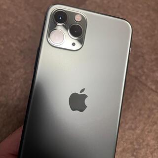 Apple - iPhone11Pro 64GB ミッドナイトグリーン SIMフリー