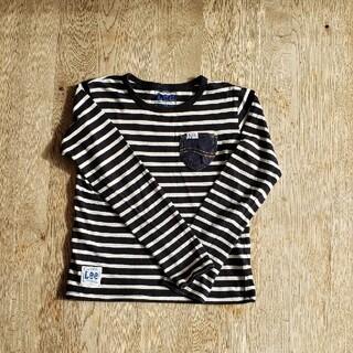 リー(Lee)のLee  ボーダー 長袖カットソー130(Tシャツ/カットソー)