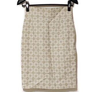 グレースコンチネンタル(GRACE CONTINENTAL)のダイアグラム スカート サイズ36 S美品 (その他)
