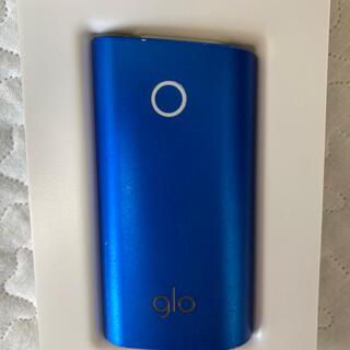 グロー(glo)のグロー/glo ローソン限定 スカイブルー 電子タバコ(タバコグッズ)