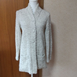 アニエスベー(agnes b.)のアニエスベー♡アルパカ&羊毛コーディガン(カーディガン)