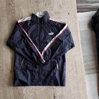プーマ(PUMA)のPUMA ウィンドブレーカー キッズ140 黒(ジャケット/上着)