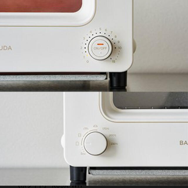 BALMUDA(バルミューダ)のバルミューダ  オーブントースター K05A-WH スマホ/家電/カメラの調理家電(調理機器)の商品写真