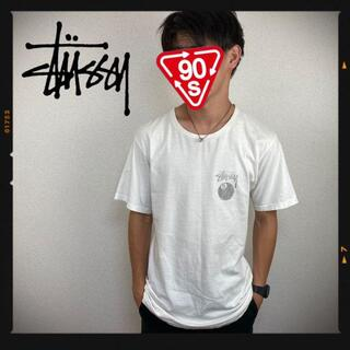 ステューシー(STUSSY)のステューシー 8ボール STUSSY ワールドツアー 古着 ホワイト(Tシャツ/カットソー(半袖/袖なし))
