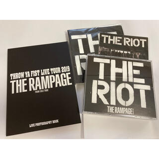 THE RAMPAGE - THE RAMPAGE 2ndアルバム THE RIOT 豪華版初回仕様