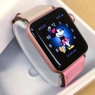 アップルウォッチ(Apple Watch)のレア色 Apple Watch 2 RoseGold アップルウォッチ 38mm(腕時計(デジタル))