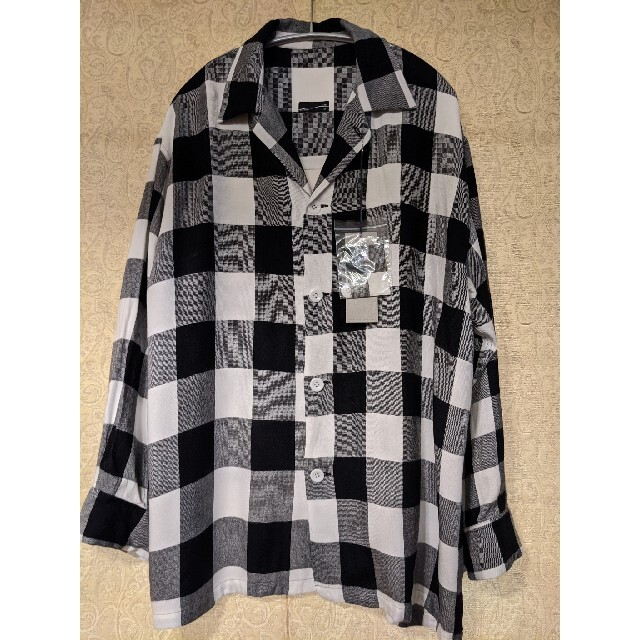 LAD MUSICIAN(ラッドミュージシャン)の【最終値下】LAD MUSICIAN ビッグパジャマシャツ メンズのトップス(シャツ)の商品写真