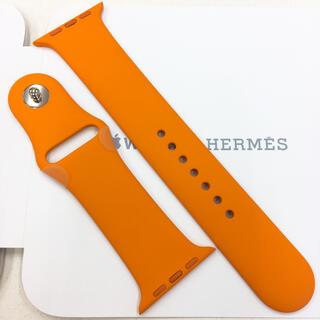アップルウォッチ(Apple Watch)のアップルウォッチ エルメス スポーツバンド 42mm Apple Watch(ラバーベルト)