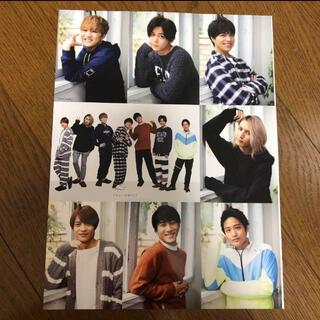 ジャニーズWEST - Myojo 1月号 ジャニーズWEST 厚紙カード