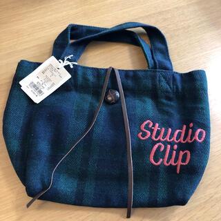 スタディオクリップ(STUDIO CLIP)のstudio clip ミニトート グリーン(トートバッグ)