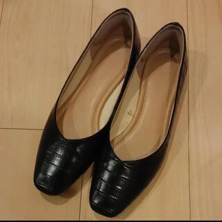 グローバルワーク(GLOBAL WORK)のグローバルワーク グローバルワーク らくっション撥水パンプス L(ローファー/革靴)