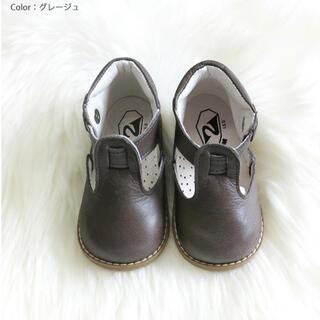 Caramel baby&child  - 新品 PEEP ZOOM  完売 グレージュ13.5